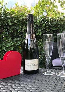 Champagne jardin