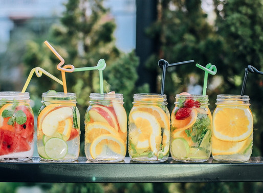 Simple Summer Syrups