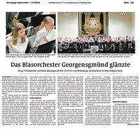 Jens Lohmüller Blechglanz Georgensgmünd Karmeliterkirche Weißenburg Blasorchester