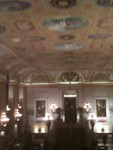 The architecture and murals and paintings in historic Palmer House - beautiful.