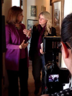 Director Cassidy McMillan interviews Dr. Michele Borba for BULLIES AND FRIENDS