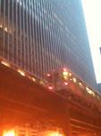 Chicago subway. Beautiful city.