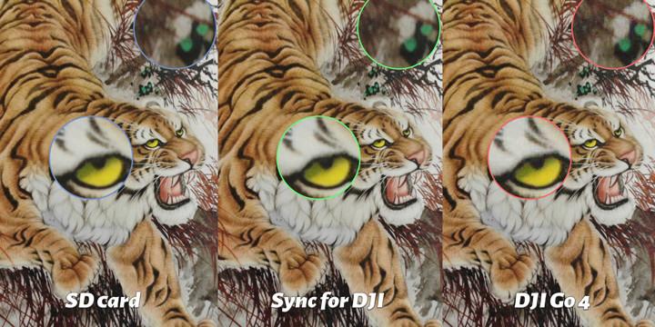 Comparison of Tiger