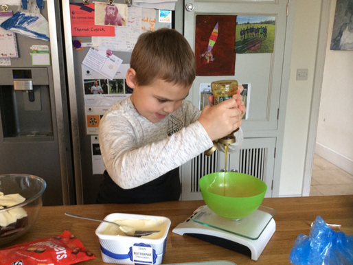 Food Tech at Home: Roman Class Gets Cooking!