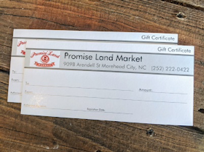 PLM Gift Card $100