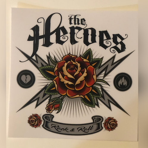 The Heroes Sticker (Style 2)