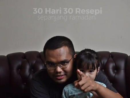 Fenomena 30 hari 30 resepi Khairul Aming