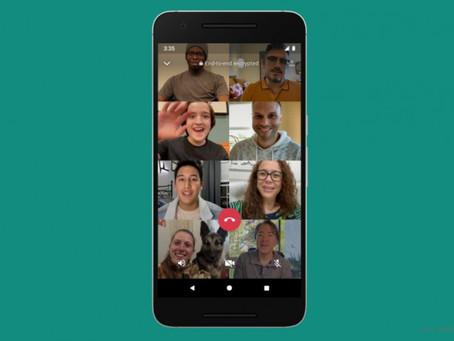 WhatsApp naik taraf fungsi panggilan video daripada 4 kepada 8 orang serentak