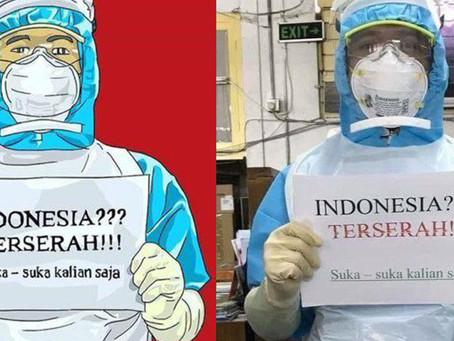 #IndonesiaTerserah jadi bualan warganet Indonesia