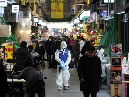 Kluster kelab malam bantut rentak pemulihan Korea Selatan