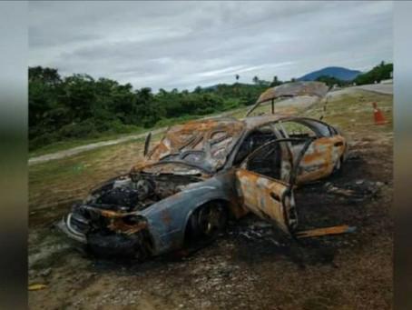 Disangka mabuk, kereta wanita dibakar