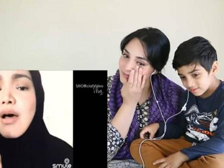 Wanita Pakistan sebak ketika bereaksi terhadap nyanyian Siti Nurhaliza
