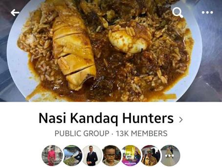Nasi Kandaq Hunters khusus untuk pemburu nasi kandar terbaik