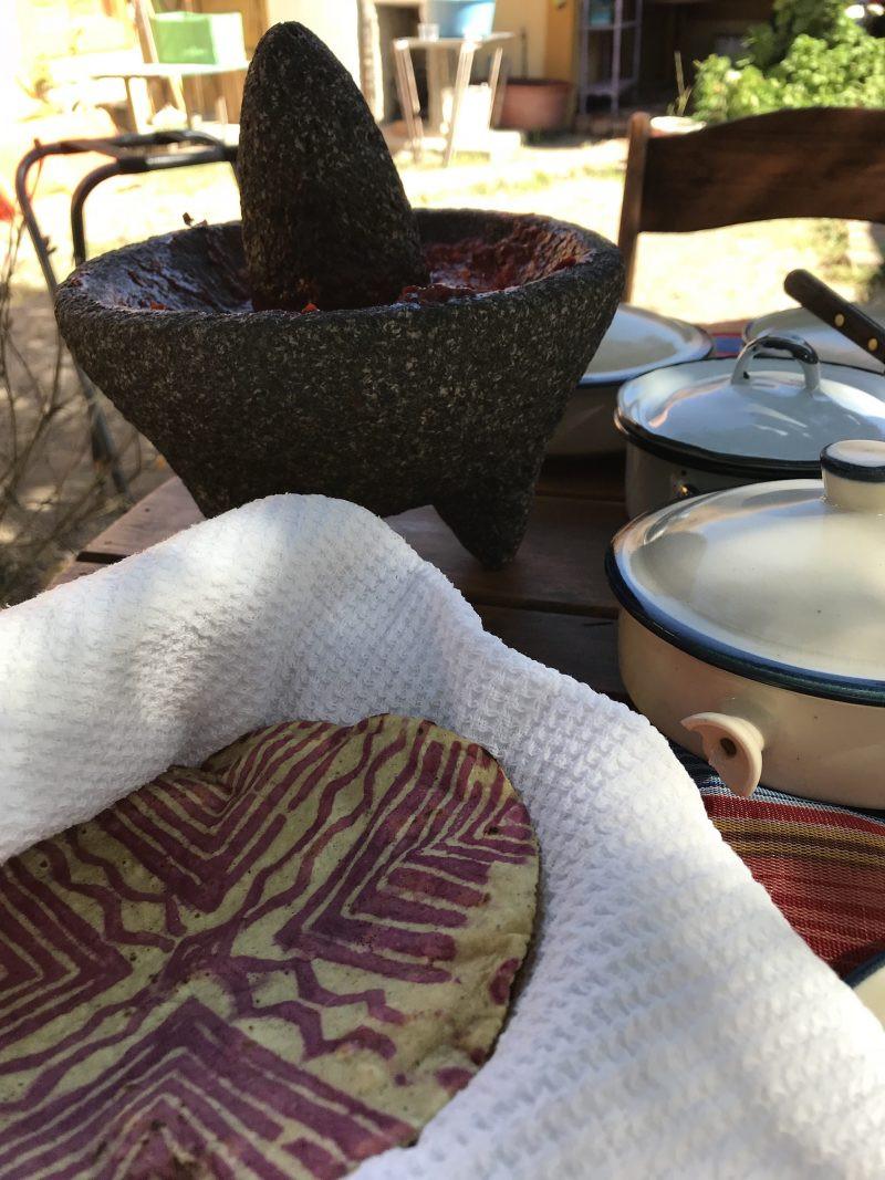 Beautiful Homemade Tortillas