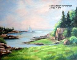 Sailing Near Bar Harbor