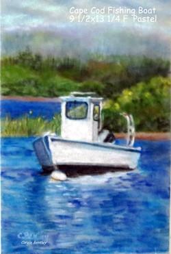 Cape Cod Fishing Boat