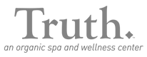 Truth_transparent_Logo_Tagline_Grayscale