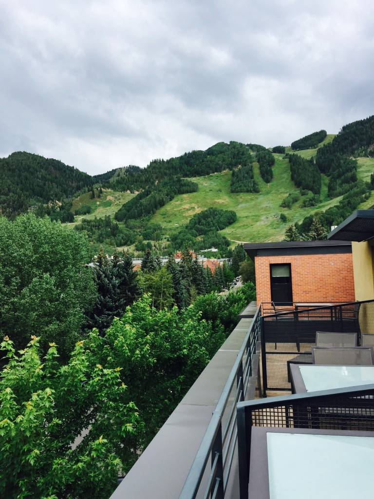 View of Aspen Mountain from Room