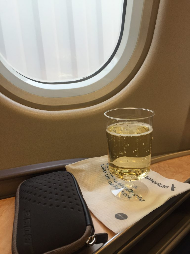 US Airways 718 PHL-FCO Business Class