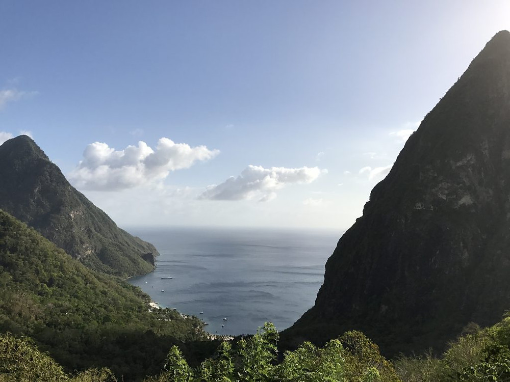 The view from Ladera Resort