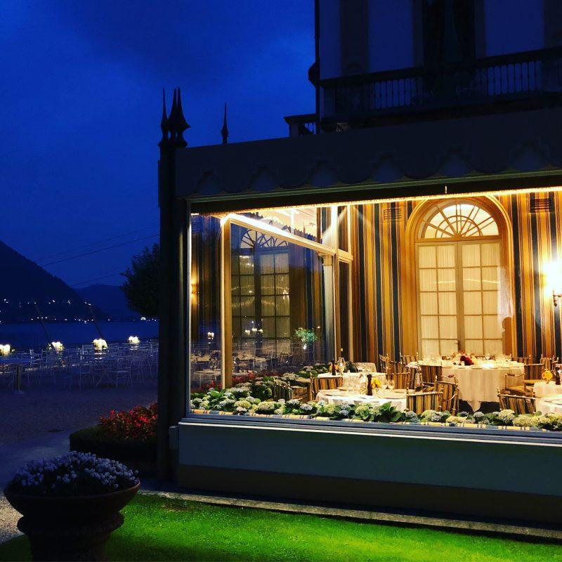 Veranda Restaurant at Villa d'Este