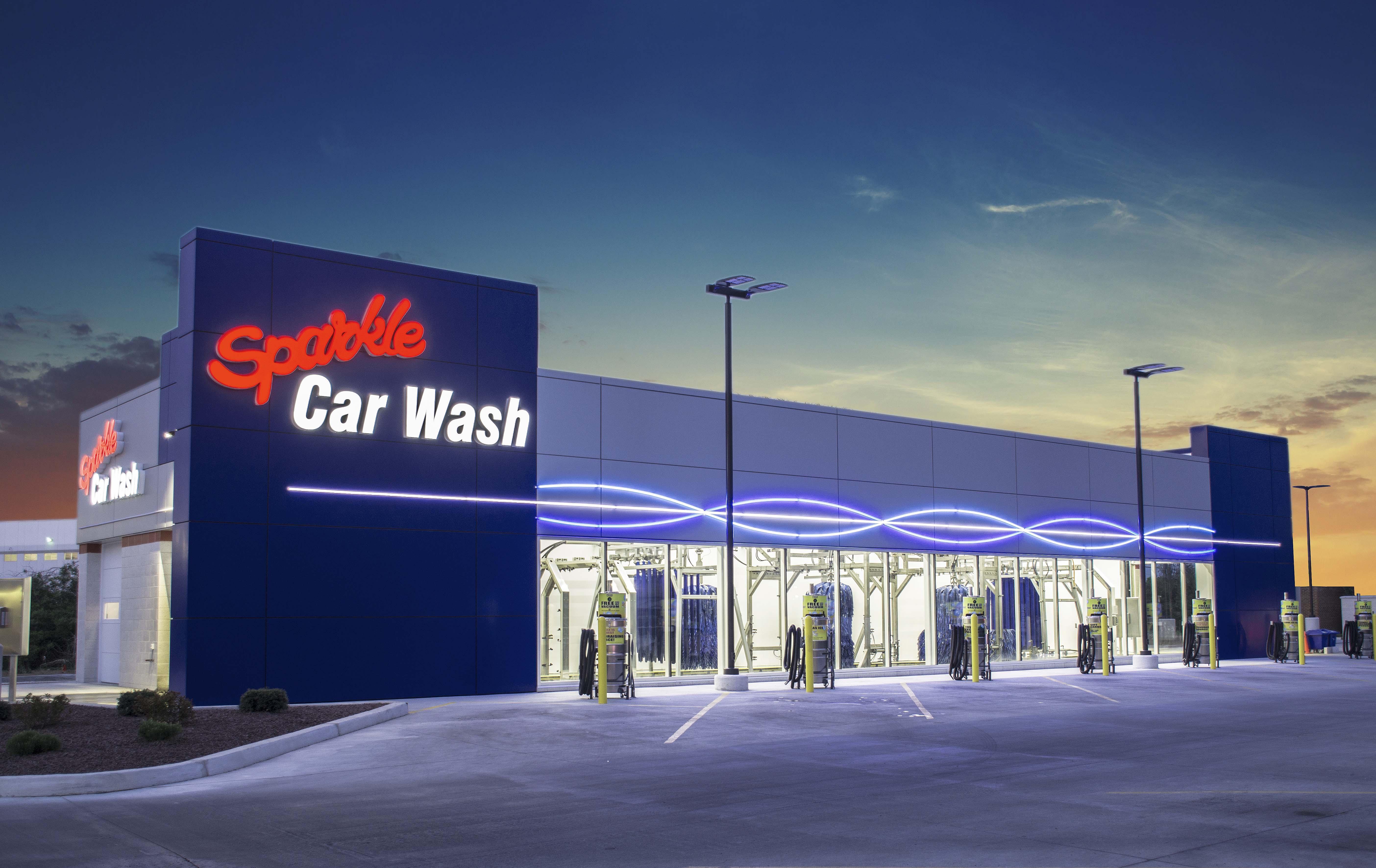 sparkle car wash