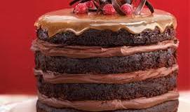 La glace c'est comme un gâteau au chocolat !