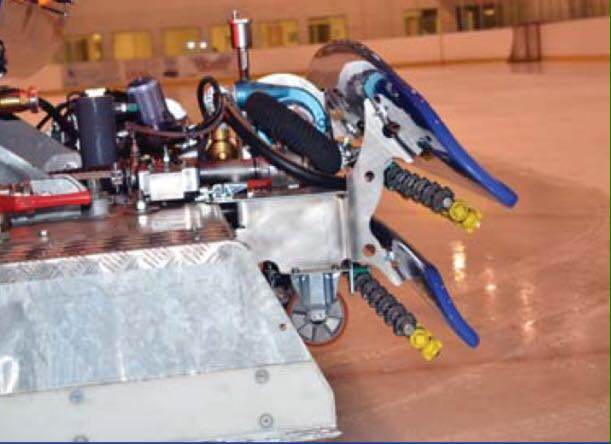 système armoured ice