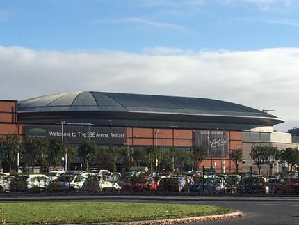 Visite au SSE Arena Belfast