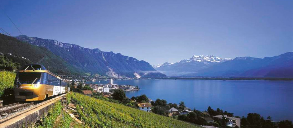 Switzerland - Rail Holidays with Heavenly Scenery!
