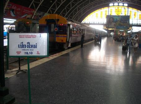 One night in Bangkok (and one on a train and one in Chiangmai)