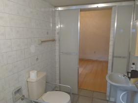 Banheiro adaptado a cadeirante