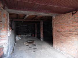 Parte interna garagem