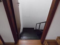 Escada acesso a garagem