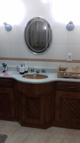 Bancada do banheiro
