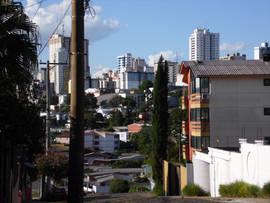 Vista da área central