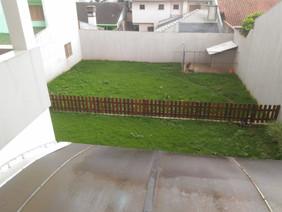 Pátio visto do segundo pavimento
