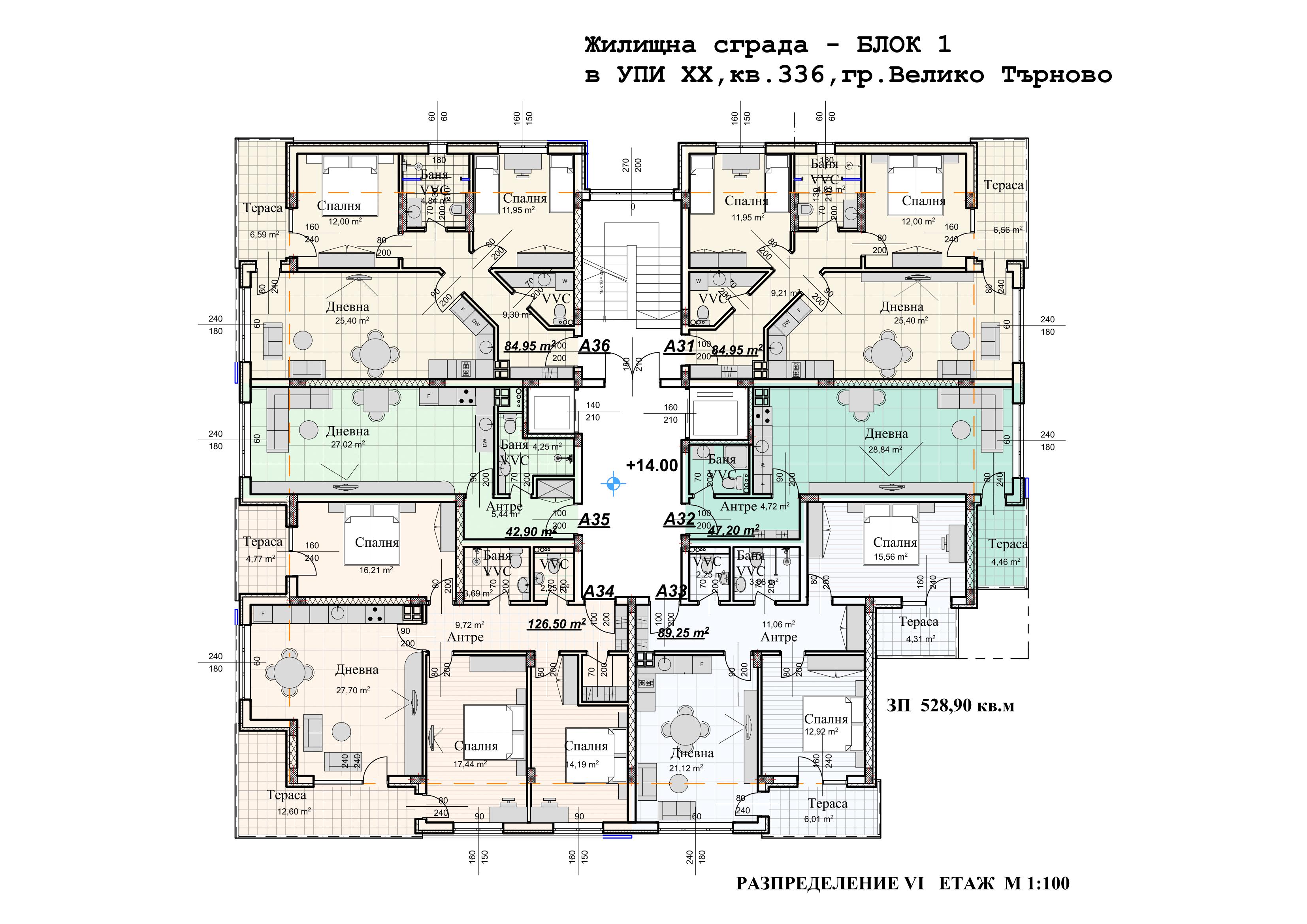 Болярски Дом Етаж VI.png