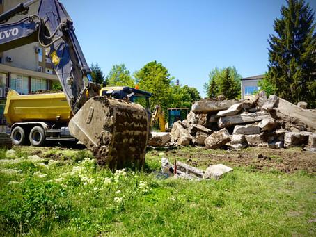 """Снимки от строителството на """"БОЛЯРСКИ ДОМ III"""" и подземния паркинг"""