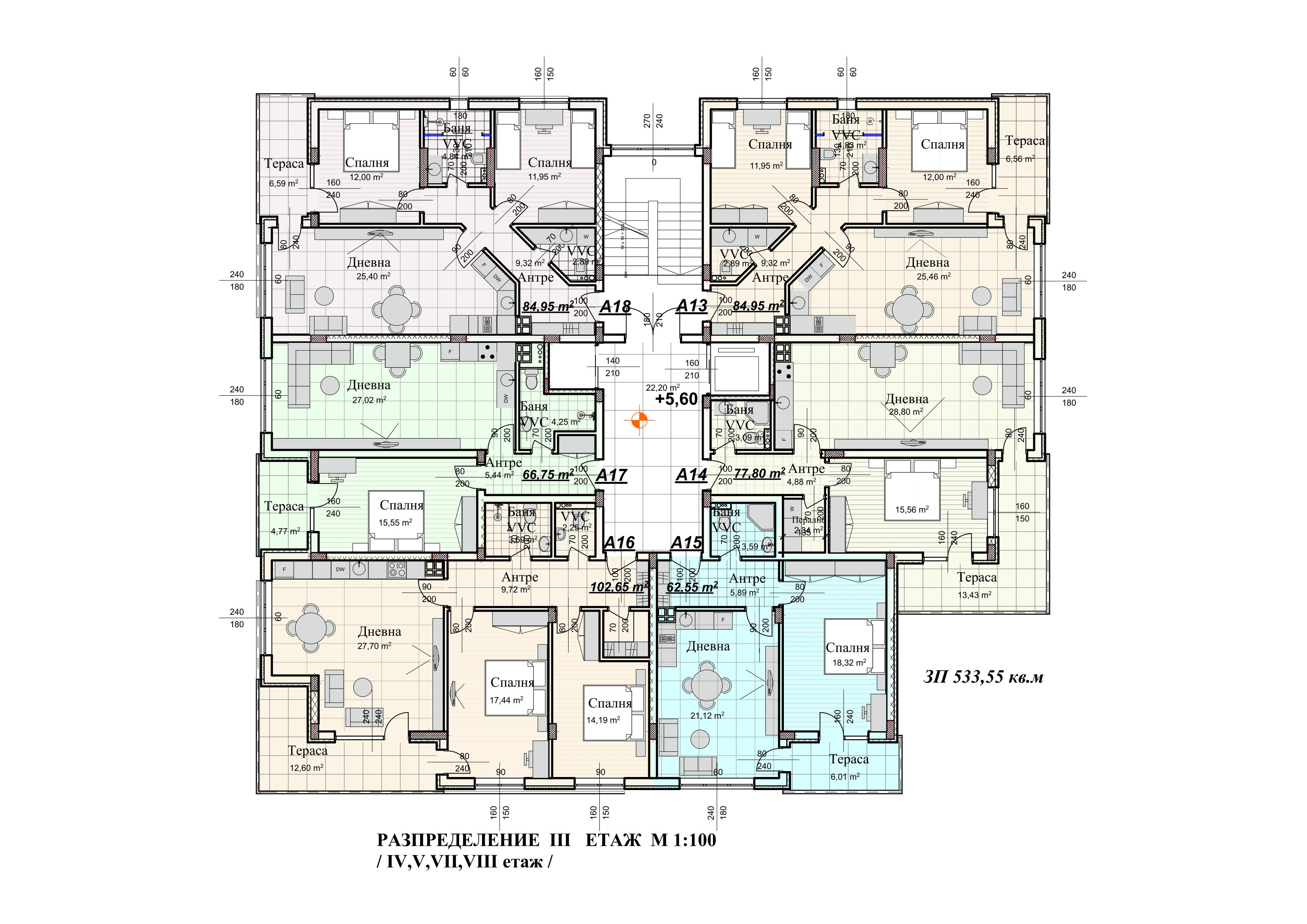 Болярски Дом Етаж III.png