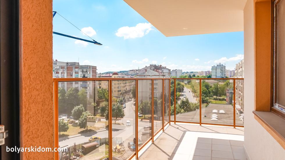 Панорамна тераса - ПРЕМИУМ апартамент с една спалня в БОЛЯРСКИ ДОМ