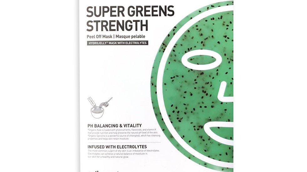 Super Greens Strength Hydro Jelly Mask