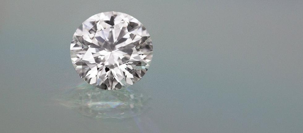 Picture Of Lab Diamond, Close Up