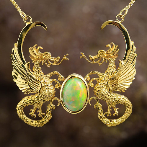 Dragons With Ethiopian Opal