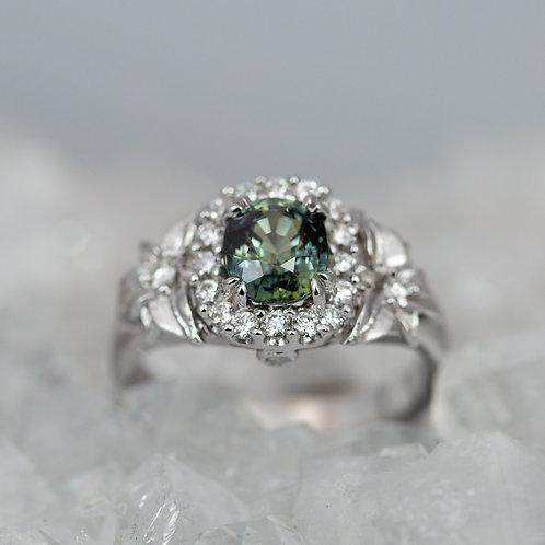 Sapphire and Trillium