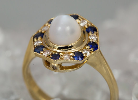 Moonstone with Halo