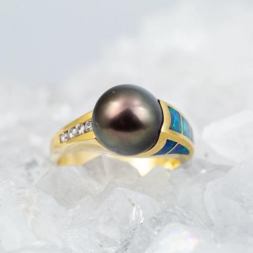 Black Pearl and Opal