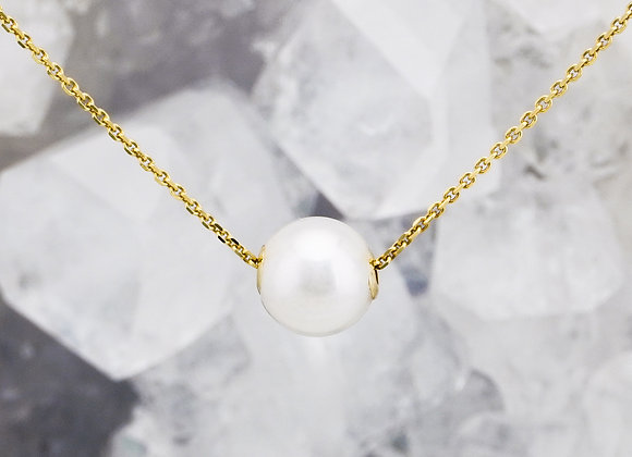 Chic Inline Pearl Necklace