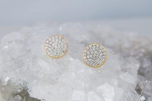 Diamond Pavé Earrings
