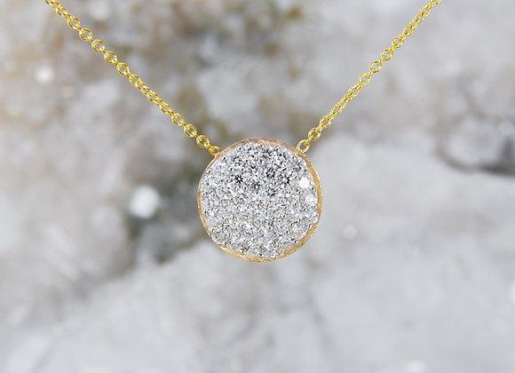 Pavé Lab Diamond Necklace
